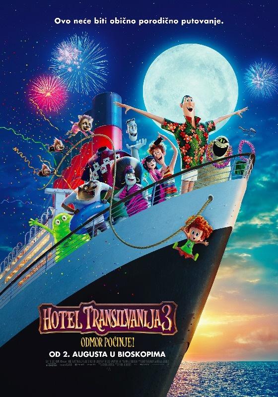 Hotel Transilvanija 3: Odmor počinje! (sinhro.) - 2D