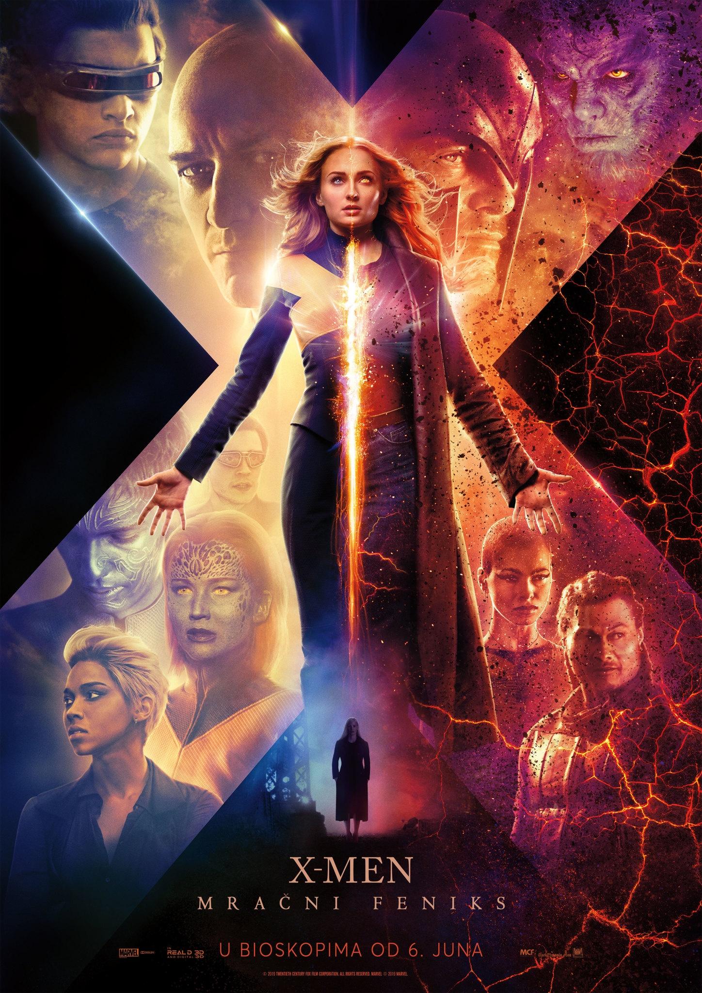 X-Men: Mračni Feniks - 3D